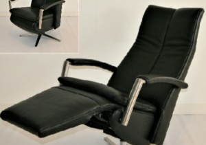 Gealux fauteuil zwart