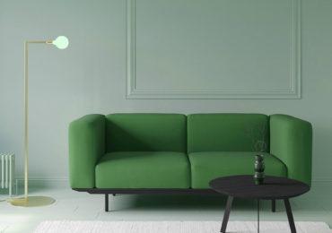 Studio Henk bij JHAB Interieur Styling Enschede - Studio Henk groene bank