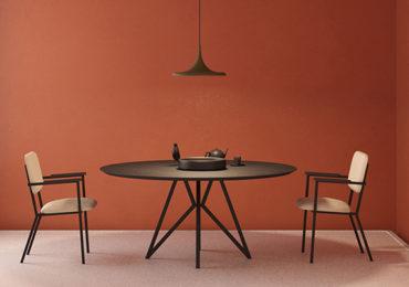 Studio Henk bij JHAB Interieur Styling Enschede - Studio Henk eettafel