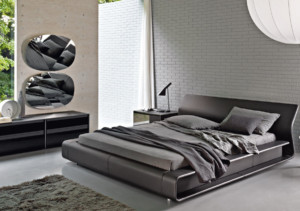 Molteni bed model Clip